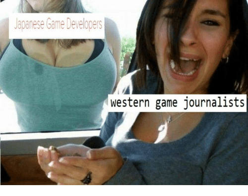 Western: Japanese Game Developers  western game journalists