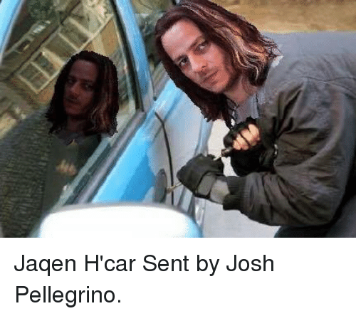 Game of Thrones: Jaqen H'car  Sent by Josh Pellegrino.