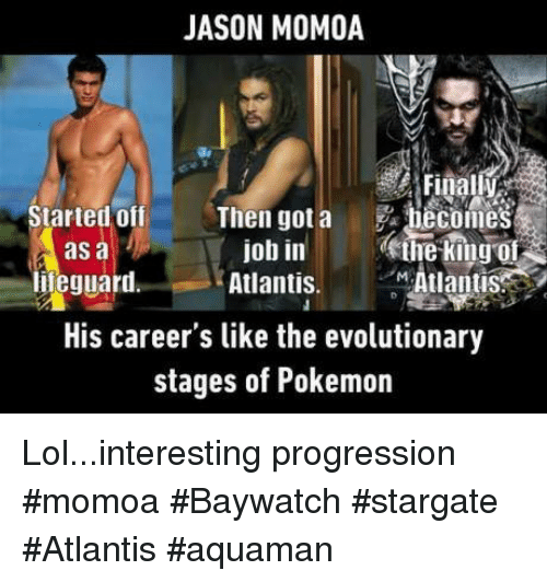 Jason Momoa Lifeguard: 25+ Best Memes About Stargate Atlantis
