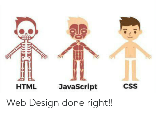 Done Right: JavaScript  CSS  HTML Web Design done right!!