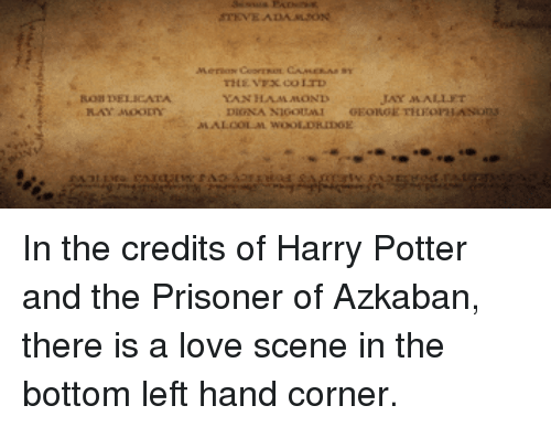 prisoner of azkaban director essay They'd seen a few essays online, too, from people like kevin b lee and   director of the social network and seven and zodiac and so many other   essays about everything from why the prisoner of azkaban is the best.