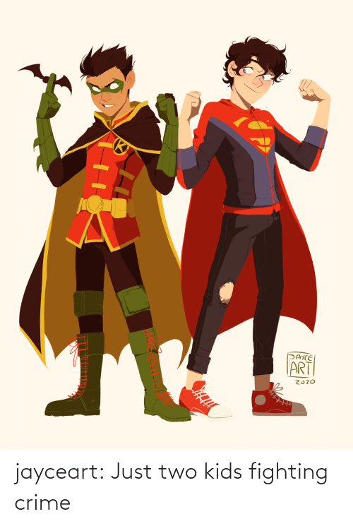fighting: jayceart:  Just two kids fighting crime
