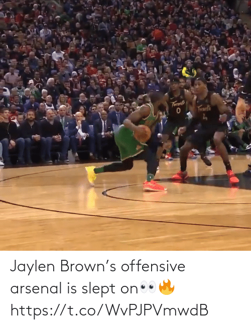 brown: Jaylen Brown's offensive arsenal is slept on👀🔥 https://t.co/WvPJPVmwdB