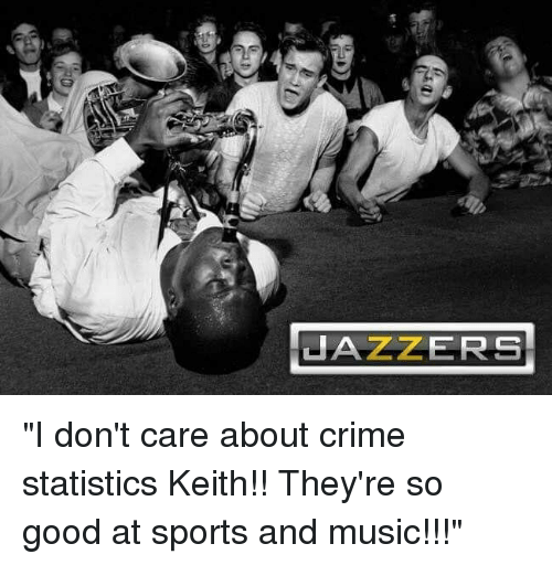 Crime, Music, and Reddit: JAZZERS