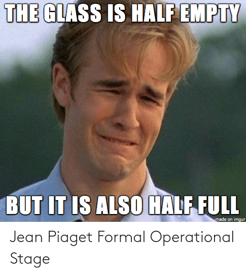 Stage: Jean Piaget Formal Operational Stage