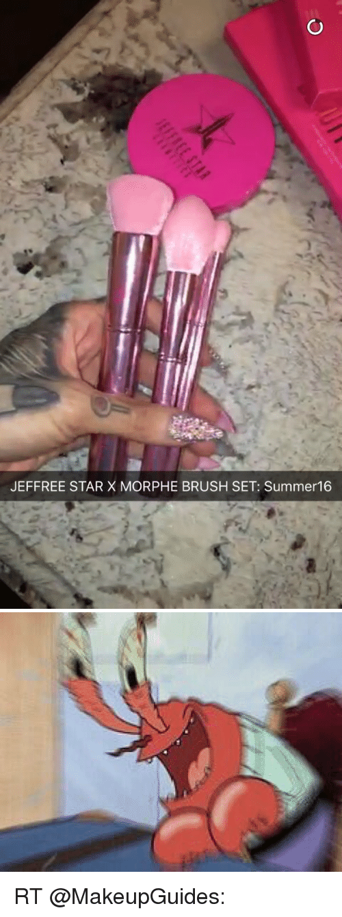 Funny, Summer, and Star: JEFFREE STAR X MORPHE BRUSH SET: Summer 16 RT @MakeupGuides:
