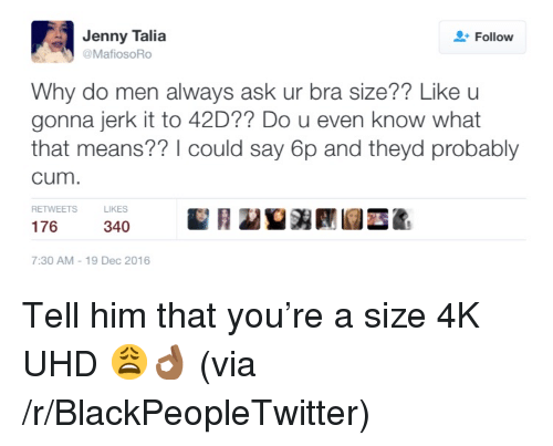 What breast size do men like