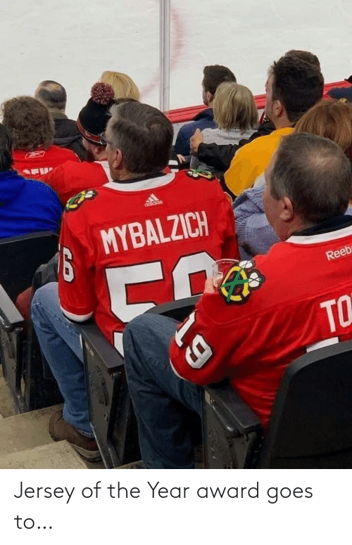 jersey: Jersey of the Year award goes to…