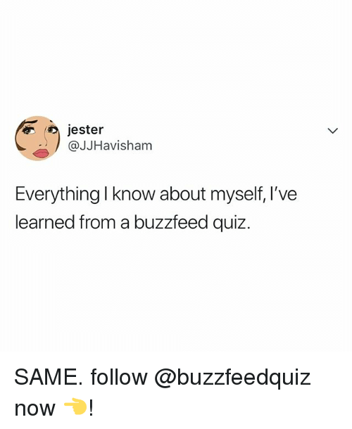 how to know about myself quiz