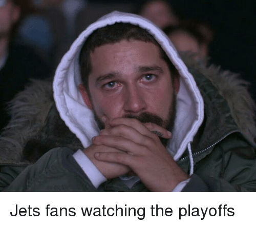 jets-fan: Jets fans watching the playoffs
