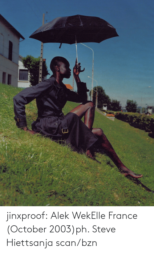 France: jinxproof: Alek WekElle France (October 2003)ph. Steve Hiettsanja scan/bzn
