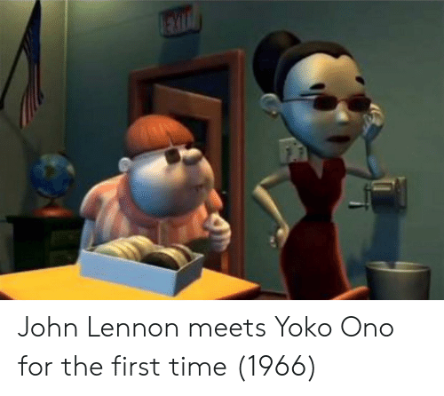 Yoko Ono: John Lennon meets Yoko Ono for the first time (1966)