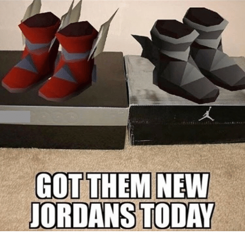 Jordans and Today: JORDANS TODAY