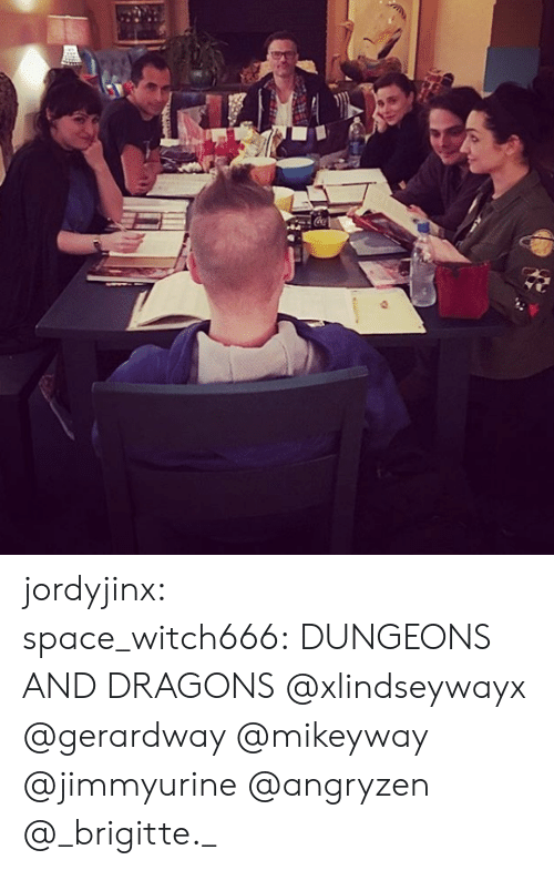dungeons: jordyjinx:  space_witch666: DUNGEONS AND DRAGONS @xlindseywayx @gerardway @mikeyway @jimmyurine @angryzen @_brigitte._