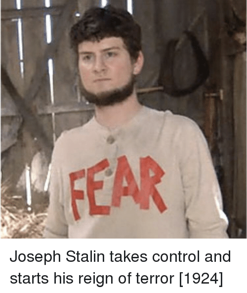 stalin: Joseph Stalin takes control and starts his reign of terror [1924]