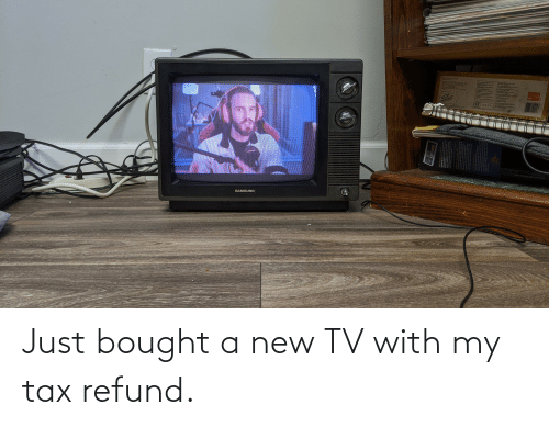 New Tv: Just bought a new TV with my tax refund.
