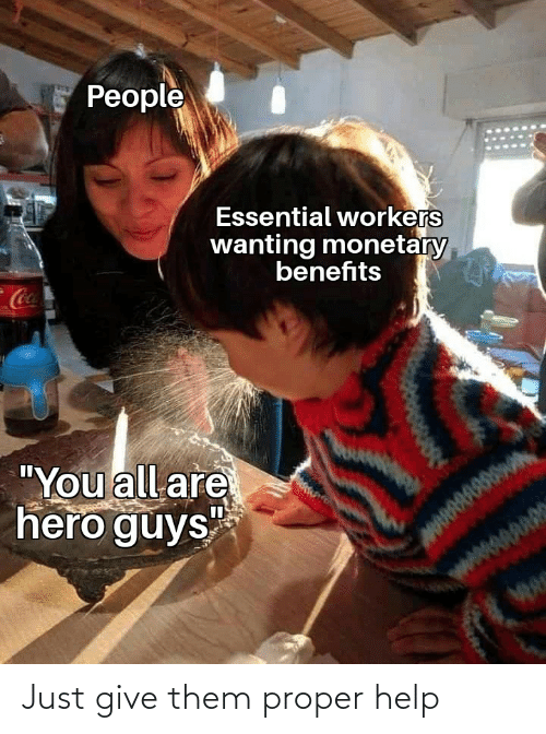 Just Give: Just give them proper help