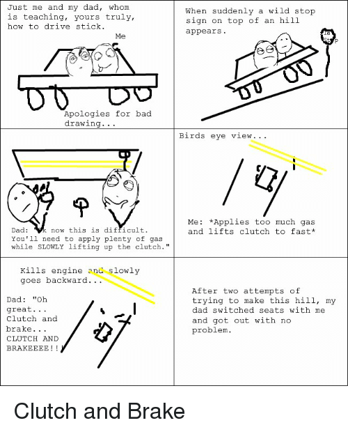 how to drive stick
