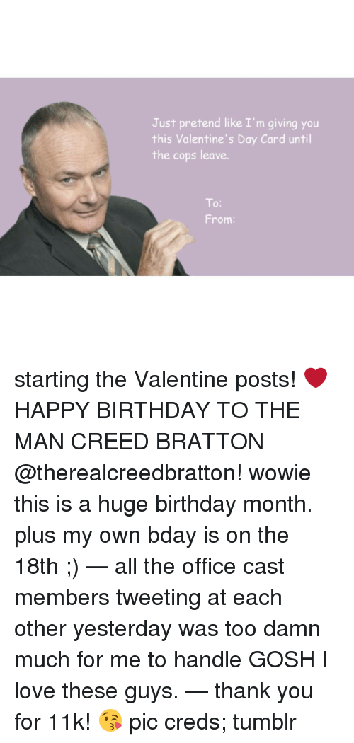 memes creed and creed bratton just pretend like im giving you