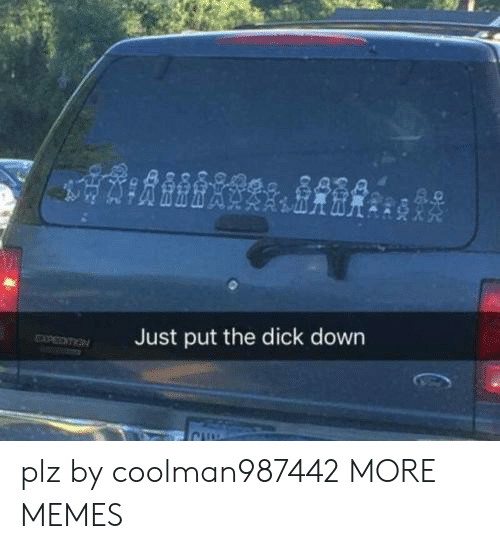 The Dick: Just put the dick down plz by coolman987442 MORE MEMES