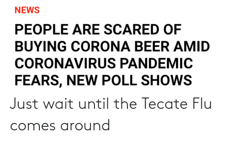 tecate: Just wait until the Tecate Flu comes around