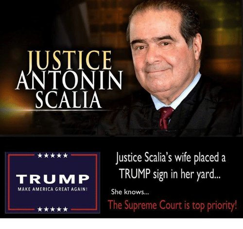 Trump Tax Plan Courts Major Backlash: Funny Antonin Scalia Memes Of 2016 On SIZZLE