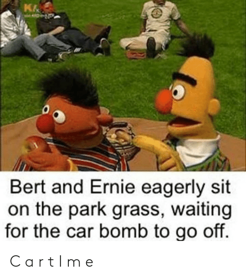 Bert And Ernie Panic As They Know If The Count Says The