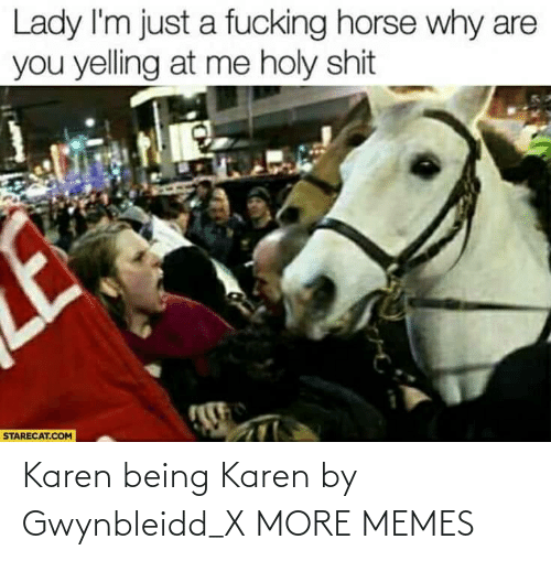 karen: Karen being Karen by Gwynbleidd_X MORE MEMES