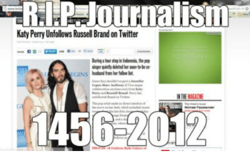 Russell Brand: Katy Perry Unfollows Russell Brand on Twitter