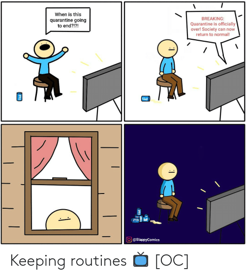Keeping: Keeping routines 📺 [OC]