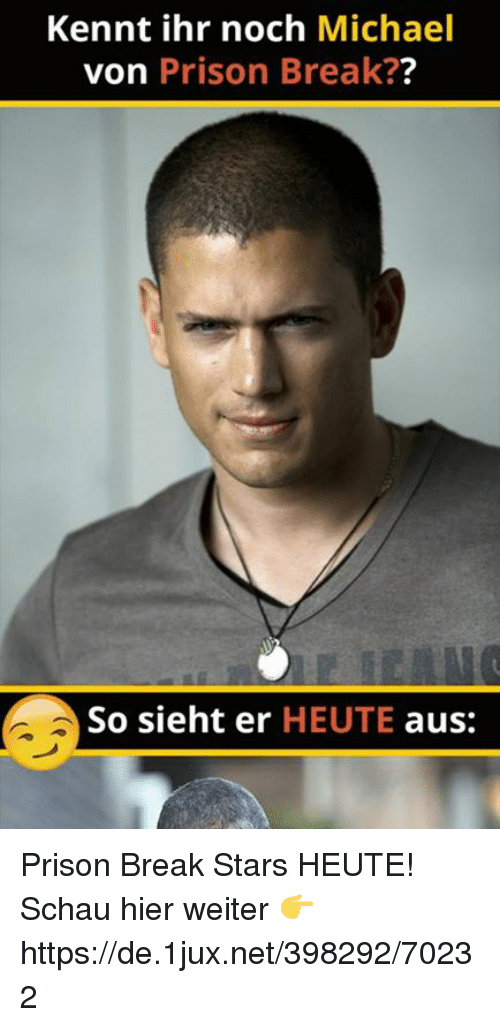 prison break essay Wentworth miller has written a thought-provoking essay in response to a body-shaming meme which was shared online by the lad bible miller, who is best known for his role as michael scofield in .
