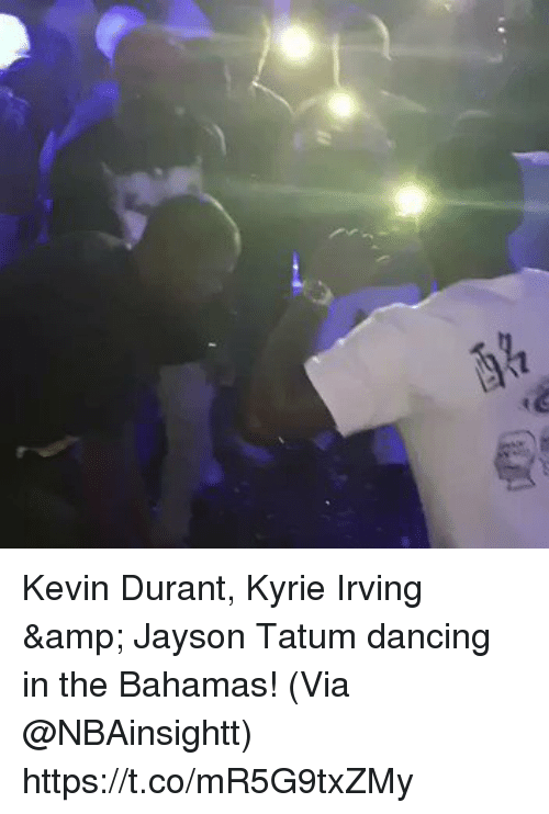 the bahamas: Kevin Durant, Kyrie Irving & Jayson Tatum dancing in the Bahamas!   (Via @NBAinsightt)    https://t.co/mR5G9txZMy