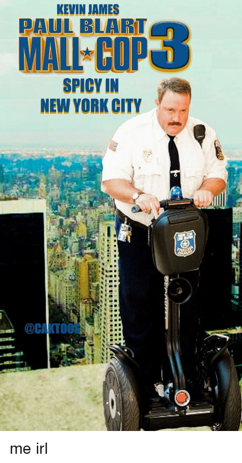 KEVIN JAMES MALI COP SPICY IN NEW YORK CITY | Kevin James ...