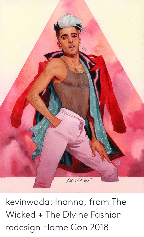 Wicked: kevinwada:  Inanna, from The Wicked + The DIvineFashion redesignFlame Con 2018