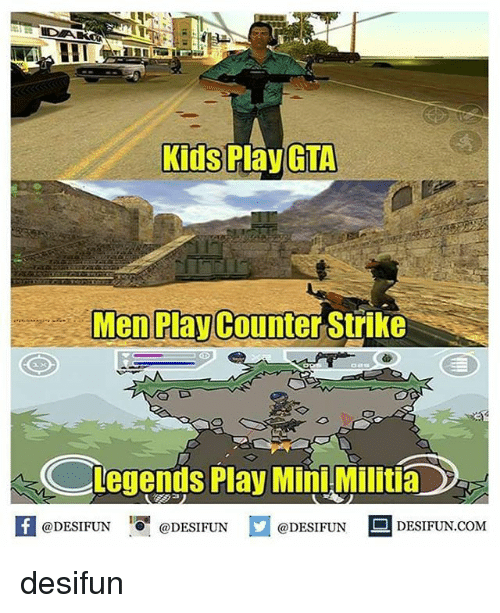 Counter Strikes: Kids  Play GTA  Men Play Counter Strike  Legends Play MiniMilitia  f @DESIFUN  @DESIFUN  @DESIFUN  DESIFUN.COM desifun