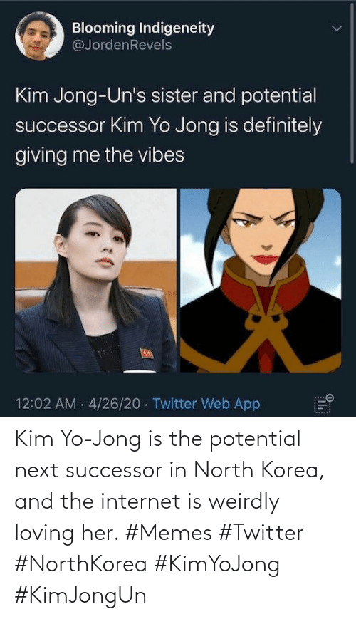 korea: Kim Yo-Jong is the potential next successor in North Korea, and the internet is weirdly loving her. #Memes #Twitter #NorthKorea #KimYoJong #KimJongUn