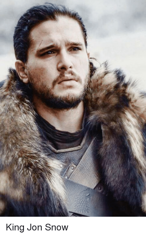Memes, Jon Snow, and Snow: King Jon Snow
