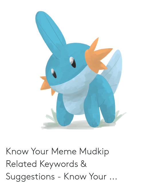 Know Your Meme Mudkip: Know Your Meme Mudkip Related Keywords & Suggestions - Know Your ...