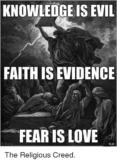 evidence of religious faith in the Most people don't relate the concepts of religion and evidence because, by its definition, religion involves a faith or belief outside of facts and data.