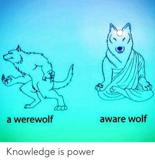 Knowledge: Knowledge is power