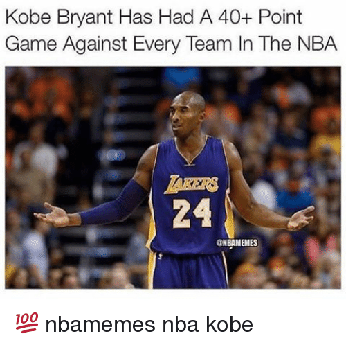 25+ Best Memes About Kobe Bryant, Basketball, NBA, And