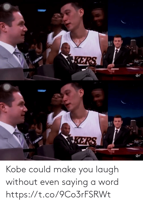 Make You Laugh: Kobe could make you laugh without even saying a word https://t.co/9Co3rFSRWt