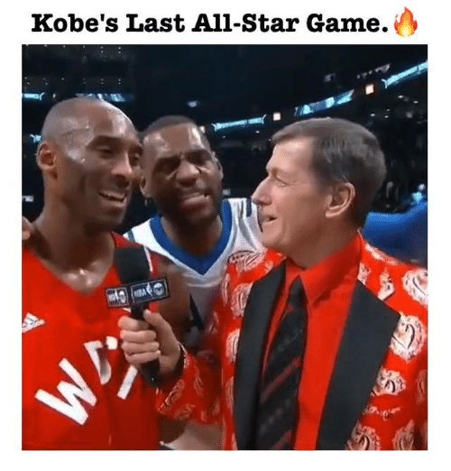 All Star, Memes, and Game: Kobe's Last All-Star Game.