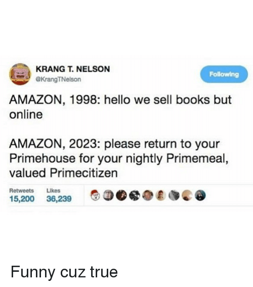 krangt nelson following tnelson amazon 1998 hello we sell books but online amazon 2023 please. Black Bedroom Furniture Sets. Home Design Ideas