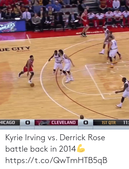 Derrick Rose: Kyrie Irving vs. Derrick Rose battle back in 2014💪 https://t.co/QwTmHTB5qB