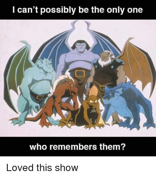Memes, Only One, and 🤖: l can't possibly be the only one  who remembers them? Loved this show