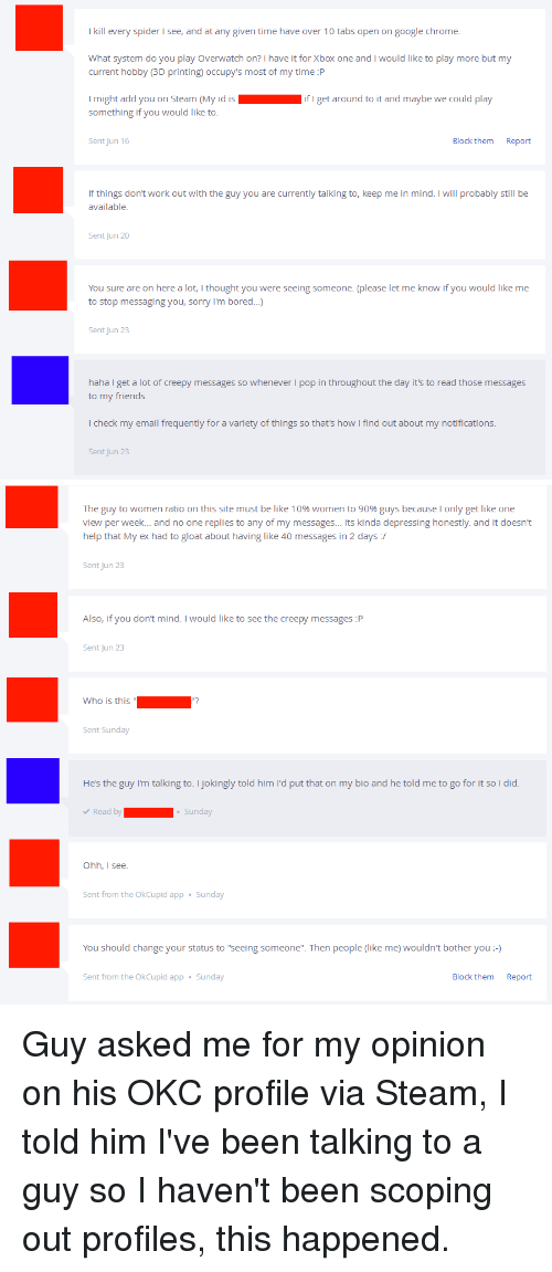 how do you block someone on okcupid