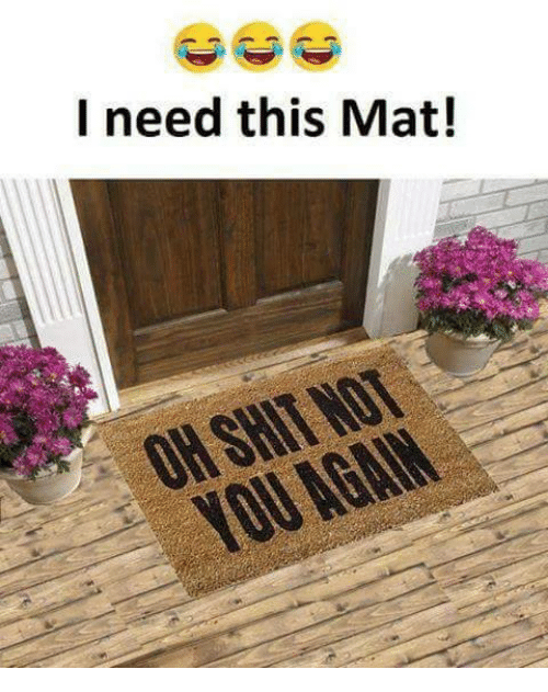 L Need This Mat!
