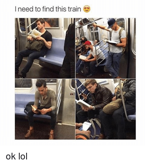 Lol, Train, and Girl Memes: l need to find this train ok lol