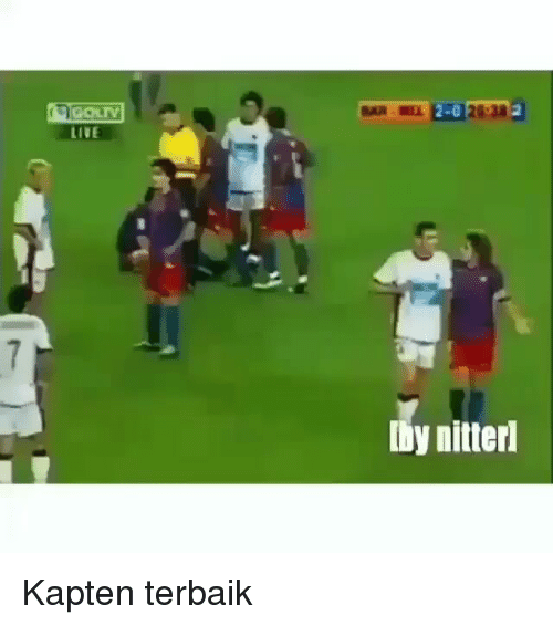 Live and Indonesian (Language): L2-023  LIVE  by nitterl Kapten terbaik